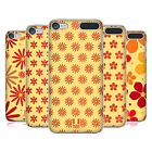HEAD CASE DESIGNS FLORAL PATTERN HARD BACK CASE FOR APPLE iPOD TOUCH MP3