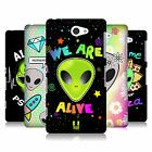 HEAD CASE DESIGNS ALIEN EMOJI HARD BACK CASE FOR SONY PHONES 4