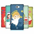 HEAD CASE DESIGNS JOLLY CHRISTMAS TOONS HARD BACK CASE FOR SONY PHONES 4