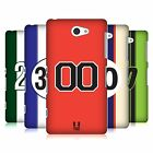 HEAD CASE DESIGNS SPEED MARKINGS HARD BACK CASE FOR SONY PHONES 4