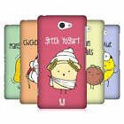 HEAD CASE DESIGNS YUMMY DOODLE HARD BACK CASE FOR SONY PHONES 4