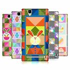 HEAD CASE DESIGNS EASTER QUILTS HARD BACK CASE FOR SONY PHONES 3