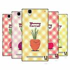 HEAD CASE DESIGNS KAWAII FRUITS AND VEGGIES HARD BACK CASE FOR SONY PHONES 3