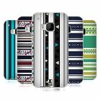 HEAD CASE DESIGNS PRINTED STRIPES SOFT GEL CASE FOR HTC PHONES 1