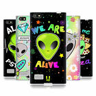 HEAD CASE DESIGNS ALIEN EMOJI SOFT GEL CASE FOR BLACKBERRY PHONES