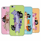 HEAD CASE DESIGNS LONG ANIMALS SOFT GEL CASE FOR APPLE iPHONE PHONES