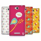 HEAD CASE DESIGNS BIRD PATTERNS SOFT GEL CASE FOR SONY PHONES 3