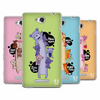 HEAD CASE DESIGNS LONG ANIMALS SOFT GEL CASE FOR SONY PHONES 3