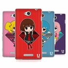 HEAD CASE DESIGNS SASSY GIRLS SOFT GEL CASE FOR SONY PHONES 3
