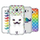 HEAD CASE DESIGNS RAINBOW MOUSTACHE SOFT GEL CASE FOR SAMSUNG PHONES 4