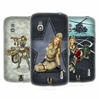 HEAD CASE DESIGNS ARMY PIN-UP CHIC SOFT GEL CASE FOR LG PHONES 3