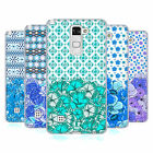 HEAD CASE DESIGNS FLORAL BLUE SOFT GEL CASE FOR LG PHONES 3