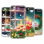 HEAD CASE DESIGNS HOLIDAY CANDLES SOFT GEL CASE FOR APPLE iPOD TOUCH MP3