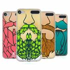 HEAD CASE DESIGNS VIBRANT BEARD SOFT GEL CASE FOR APPLE iPOD TOUCH MP3