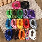 10m Silky Satin Rattail Braiding Cord String 2mm for Bracelet Necklace Knot