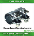 Clamp on exhaust pipe joiner/connecter/sleeve/tube repair