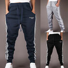Mens Tracksuit Trousers Top Sports Sweater & Bottoms Joggers Pant New Harem XS-L