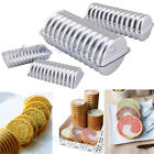 Red Bean/Raisin Bread Tube Cake Tins Pan Fondant Decorating Baking Mould Tool US