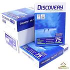 Discovery Eco Efficient A4 White Paper 75gsm Printer Copier | 1 2 3 4 5 10 Reams