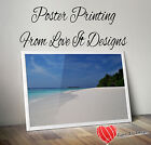 Satin or Gloss Colour Posters printing A0 A1 A2 A3. Printed Poster Service,