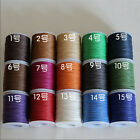 Leather Craft Natural Ramie Wax Line Leather DIY Sewing 140m Round Wax Line
