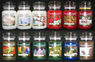 Yankee Candle 1 22 oz Jar CHRISTMAS SCENTS MANY RARE  RETIRED