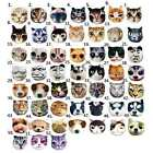 Cute New Kids Dog Cat Face Zipper Case Coin Womens Purse Bag Pouch Wallet Makeup