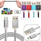 Braided Durable 1.5M 5FT Micro USB Data Sync Charger Cable Cord Lead For Android
