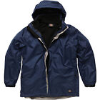 DICKIES MENS 3 IN 1 FLEECE WINTER SKI WATERPROOF COAT DETACHABLE JACKET JW7002
