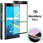 """""""Full Cover"""" Curved Corning Tempered Glass Screen Protector For Blackberry Priv"""
