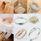 Lots Style Gold Silver Plated Bangle Charming Cuff Jewelry Bracelet Elegant