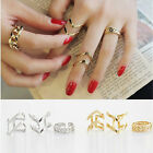 Fashion Accessories Jewelry New Punk Cuff Finger Ring 3pcs/set Gift for Women FM