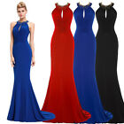 Sexy Long  Evening Formal Party Cocktail Dress Wedding Prom Gowns 8 10 12 14 16+