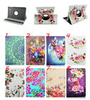 Classic Flower 360° Rotating PU Leather Case Cover For Samsung Galaxy Tab E T560