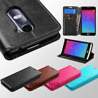 For LG Leon C40 Risio Tribute 2 Power Duo Credit Card Leather Wallet Case Cover
