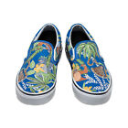 Vans x Disney THE JUNGLE BOOK Mens Shoes NEW Classic Slip On BLUE Free Shipping