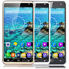 "5.5"" Unlocked Mobile Phone Quad Core 3G GSM Dual SIM Android Smartphone GPS 8GB"