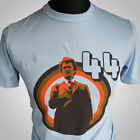 Dirty Harry 44 Movie Themed Retro T Shirt Clint Eastwood Magnum Force blue
