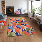 Adam Daily Pace Wool Blend Hand Tufted Designer Rug