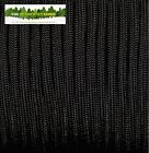 MIL-C-5040 US MILITARY ISSUE 550 PARACORD - Black - NOT A CHINESE FAKE