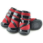 Stylish Pet Dog Skidproof Snow Boots Small Dogs Winter Waterproof Booties Shoes