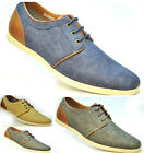 MENS FAUX LEATHER SHOES TRAINER SHOE SIZE 6 7 8 9 10 11 HIGH QUALITY FASHION