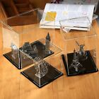 Clear Color UV S/M/L Acrylic Display Box Case Storage Tray Cube Home Protection