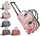 LADIES HOLDALL TROLLEY WEEKEND CATS LUGGAGE HOLIDAY TRAVEL HANDBAG