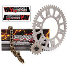 NEW X Ring Gold Chain and Sprocket Kit Aluminum Kawasaki KX250 87-91 KX500 89-04