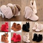 Hot Sell Newborn Baby Infant Crib Shoes Boy Girl Tassel Boot & Sneaker #4 Color