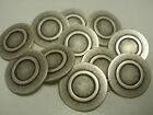 New lots of Silver Metal Buttons 5/8 11/16 13/16 7/8 1inch Blazer suit coat S86