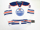 LEON DRAISAITL EDMONTON OILERS AUTHENTIC AWAY REEBOK EDGE 7231 HOCKEY JERSEY