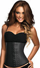 Ann Chery – Classic 3 hook Black latex waist shaper XS-XXXL