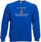 Aspergers  Adults Sweats and Hoodies, Difficulty understanding, show patience
